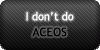 No ACEOs by SweetDuke