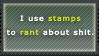 Rant Stamp