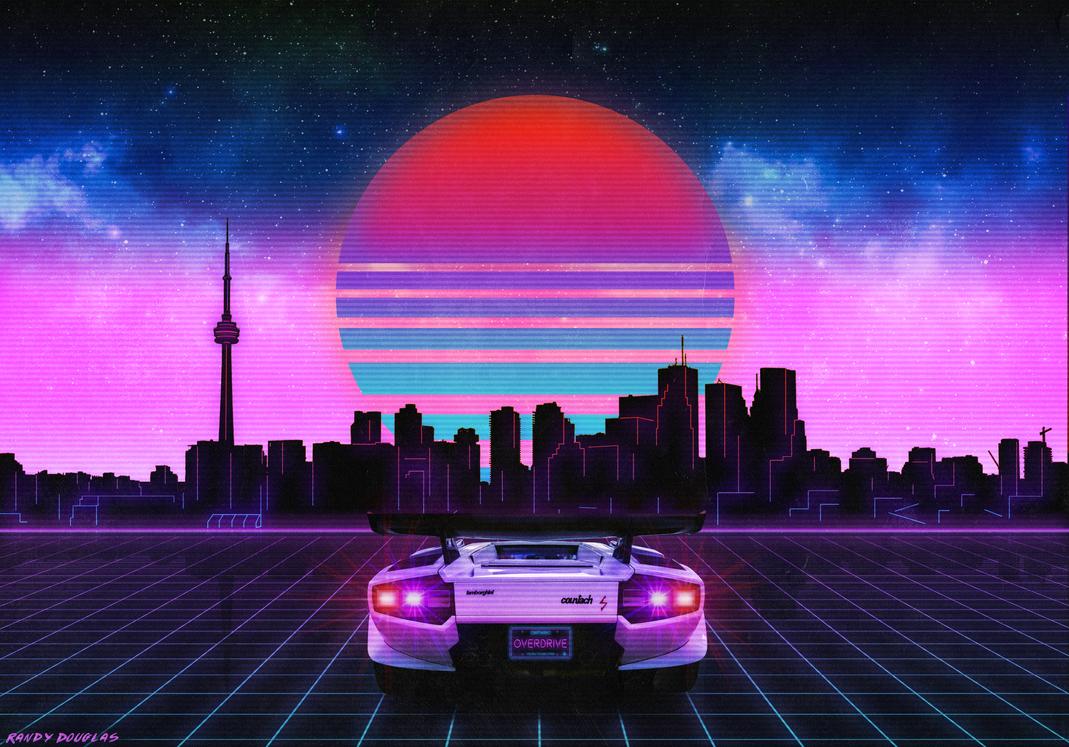 Retrowave Toronto By Immortalbus On Deviantart