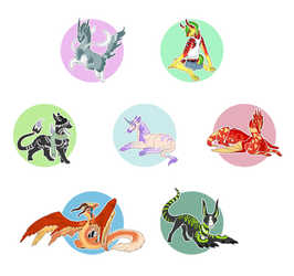 Stickers by Ricchin