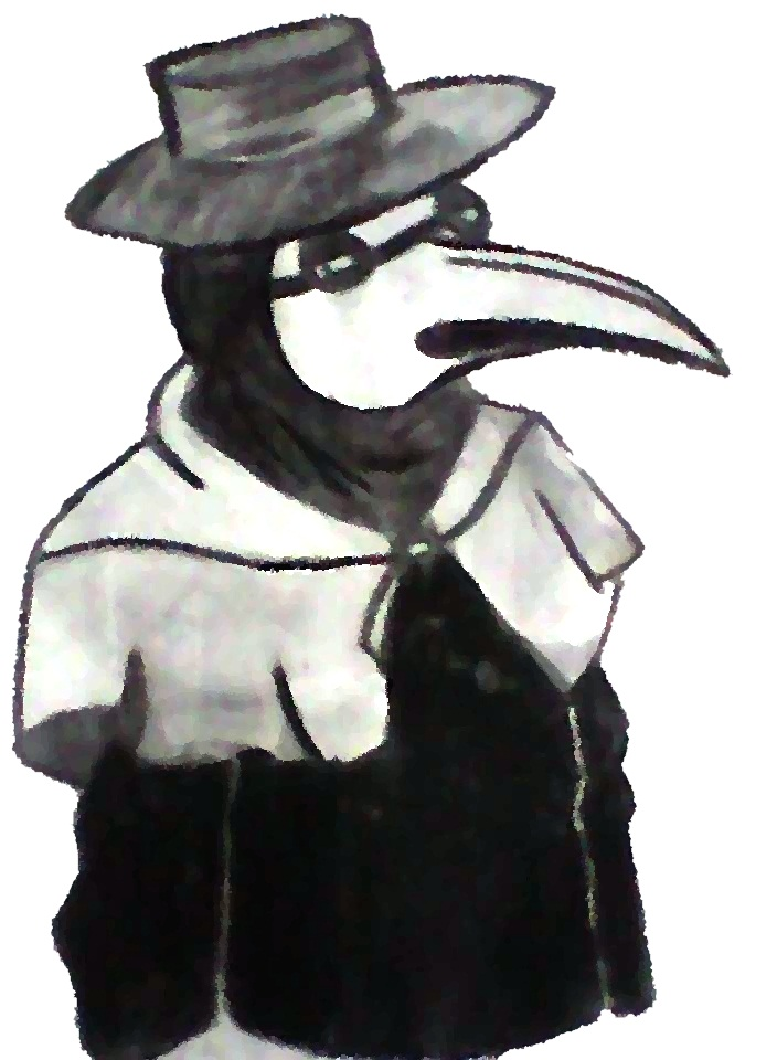 my plague doctor Emrick by mellaly