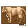 Pixel Lion by catdoak
