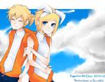 Kagamine Twins -Blue Sky