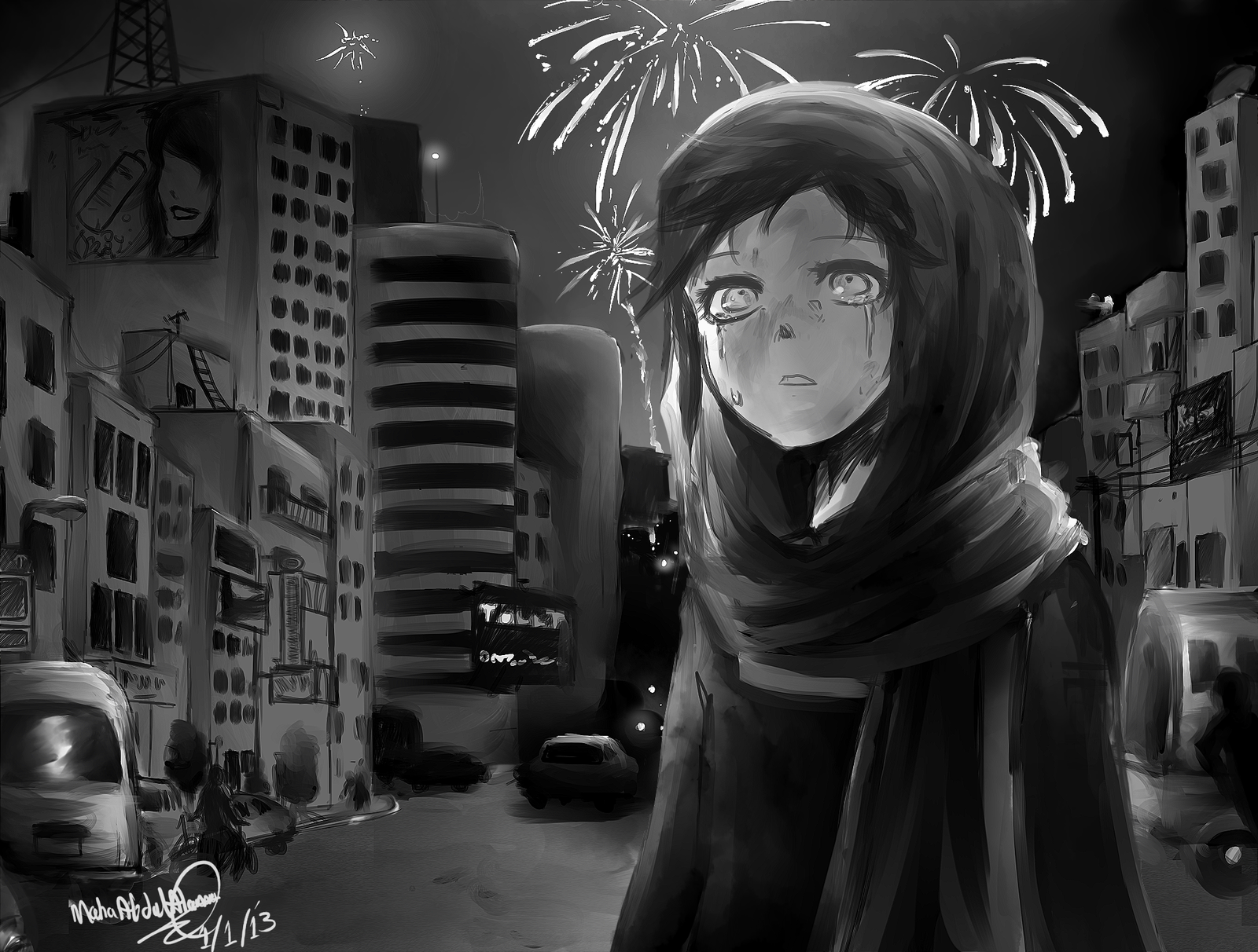 New Years Day by Poichanchan