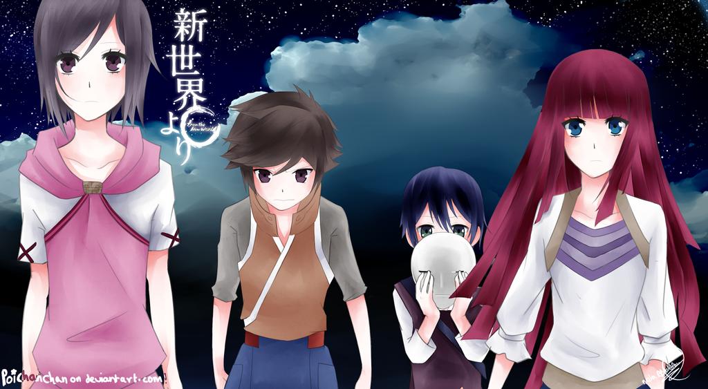 Shinsekai Yori 2 by Poichanchan