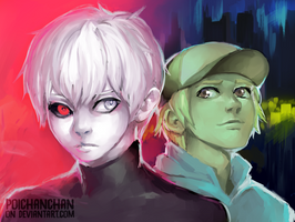 TokyoGhoul_/A by Poichanchan