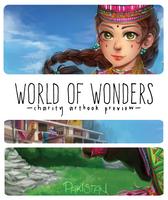 WOW Artbook Preview by Poichanchan