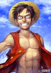 Monkey D. Luffy(edited)