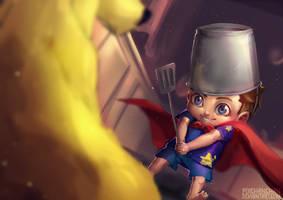 Little Knight by Poichanchan