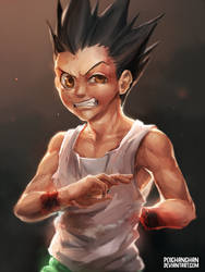 Gon Freecs by Poichanchan