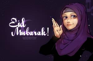 Eid mubarak! by Poichanchan