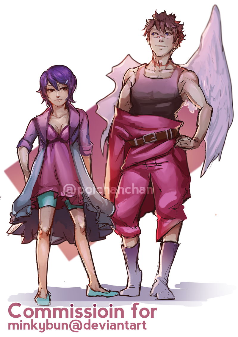 Commission - Minkybun by Poichanchan