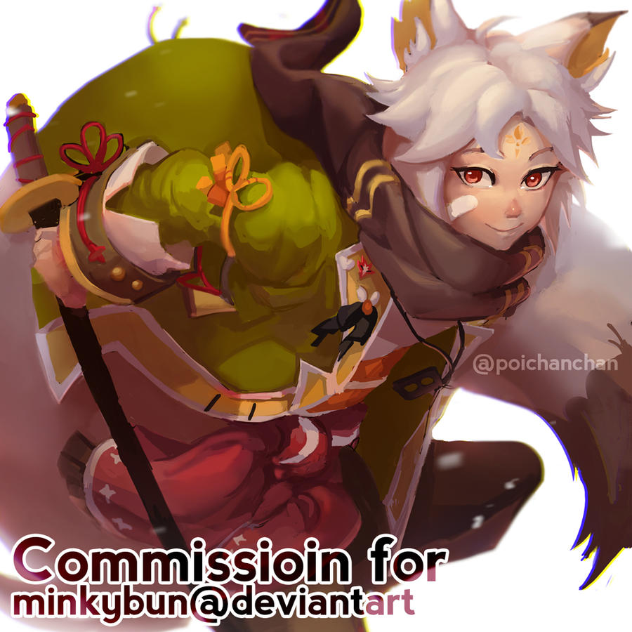 Commission - Alphone by Poichanchan