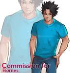 Commission - Zahir by Poichanchan