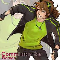 Commission - Jiden by Poichanchan