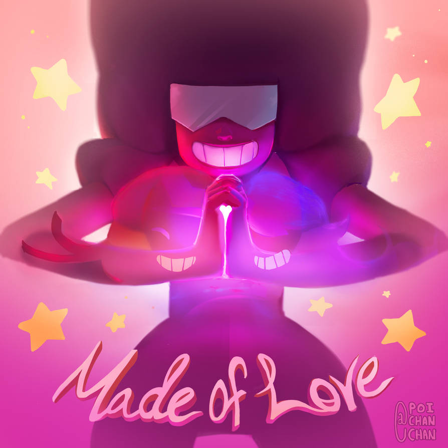 I am their fury, I am their patience,I am a Coversation~ I wanted to reinforce how Garnet exists as an experience by showing both Ruby and Sapphire holding hands through Garnet! Been pecking away o...