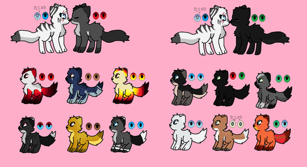 Kits And Adoptables by Luna101lol