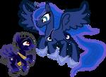 Princess Luna and Sirius