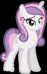 Older Sweetie Belle by MissiTofu