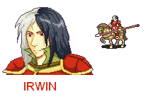 If Irwin was in Fire Emblem by PatrickleMorse