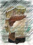 Snogging in the rain