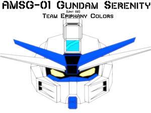AMSG-01 Serenity Gundam TE Colors