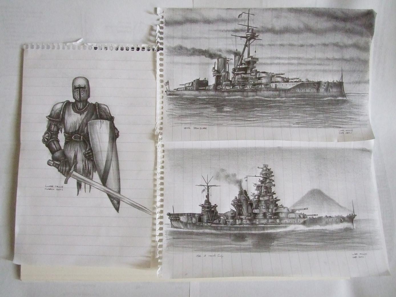 Random Sketches Feb-Mar '11