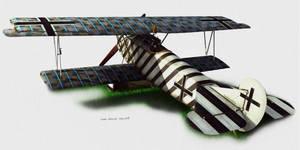 Fokker DVII Illustration Test
