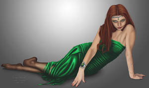 Elven Pin-up