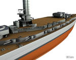 SMS Baden - Midships WIP