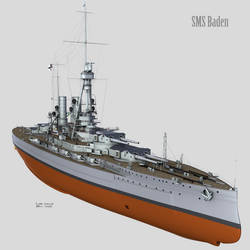 SMS Baden - Modelling is Over!!!