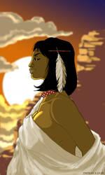 BlackIndian Princess comission by dadicus
