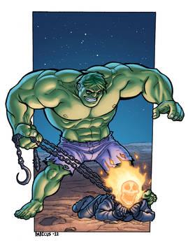 Hulk V.S. Ghost Rider
