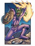 Super SKRULL REDUX by dadicus