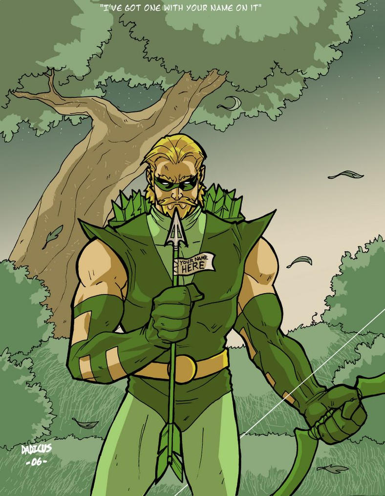 Green Arrow by dadicus