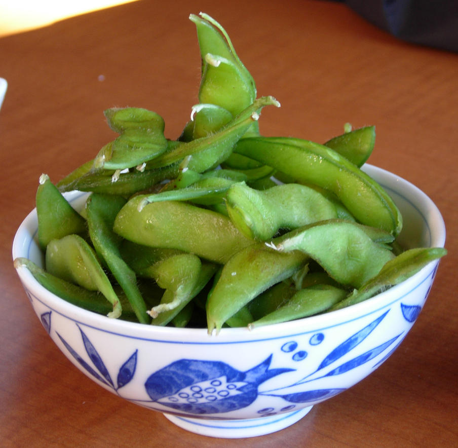 767 - edamame by WolfC-Stock