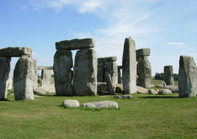 297 - Stonehenge by WolfC-Stock