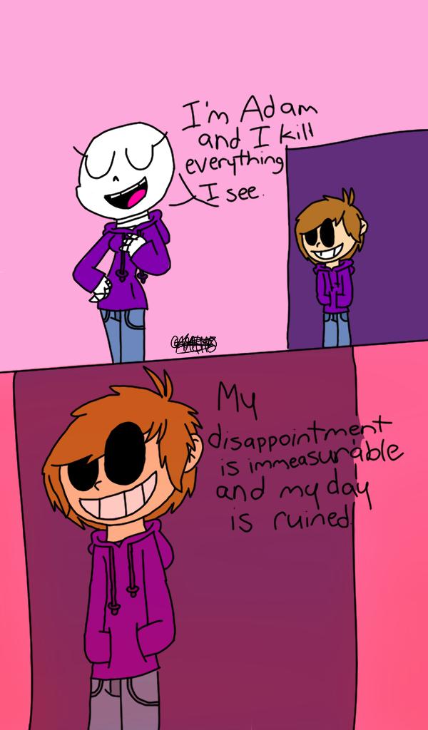 Adam vs. Rose by TordAnimations