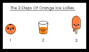 3 Steps of Orange Ice Lollies by Helen--127