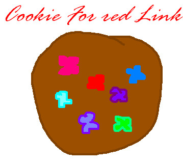 Cookie for Red Link by Rozettaplz