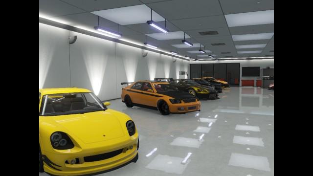 Gta Online Garage Other Half 2 By Blueboycool On Deviantart