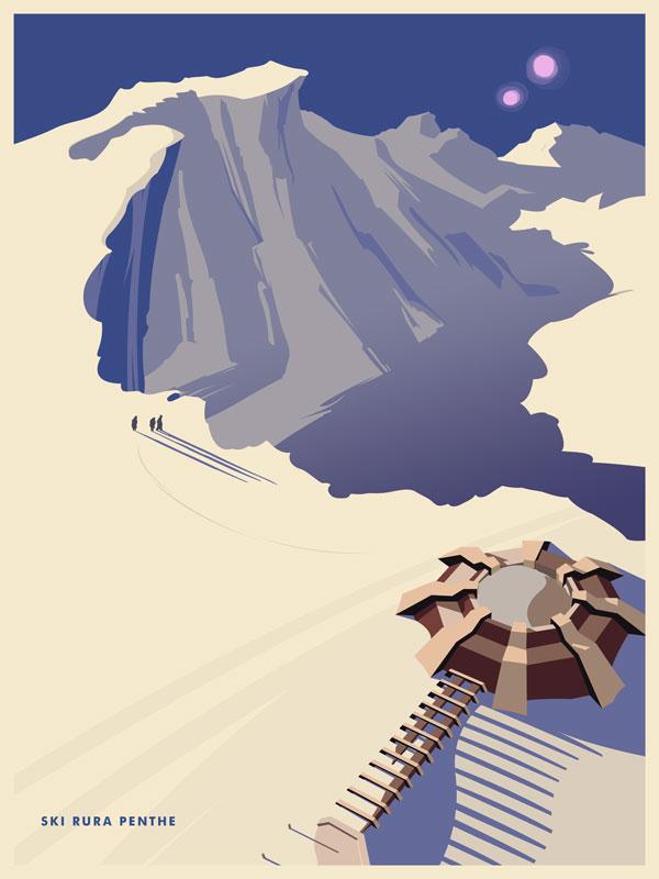 Ski Rura Penthe by mattwileyart