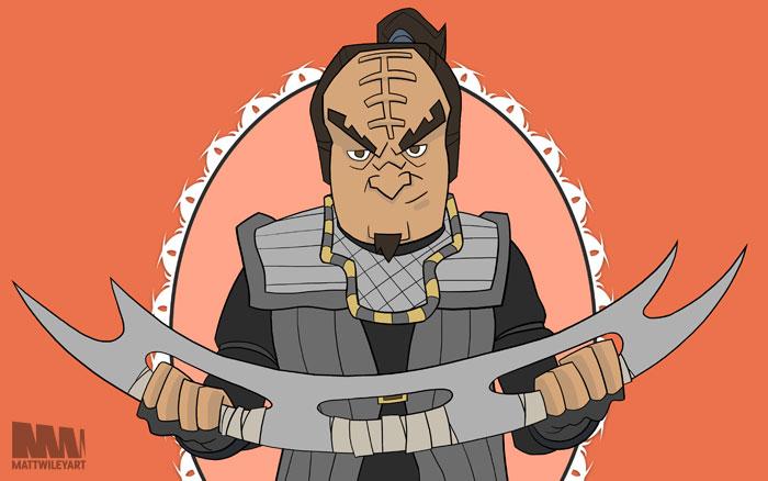 Klingon by mattwileyart