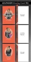 KLINGON Valentine's Day Cards by mattwileyart
