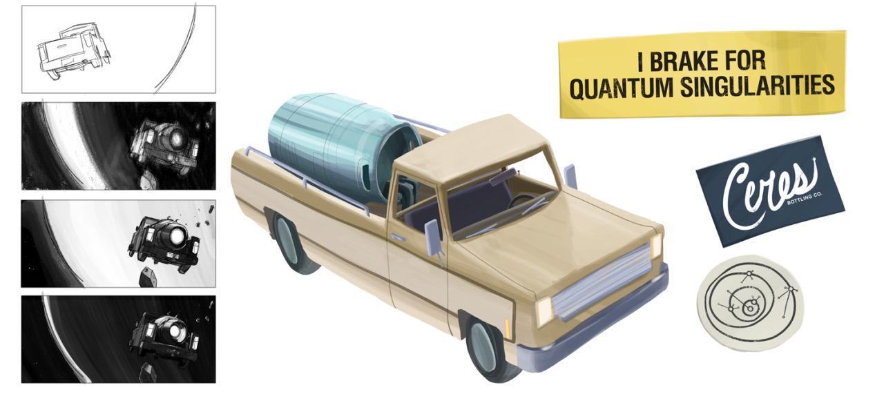 Truck Visual Development by mattwileyart