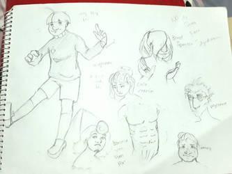 doodle book page by ixSuckahz