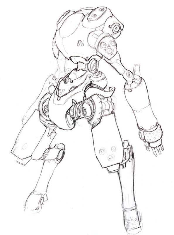 .:another mecha sketcha:. by sundragon83