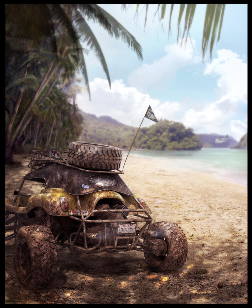 .:MotorStorm 2 Concept Art:.14 by sundragon83
