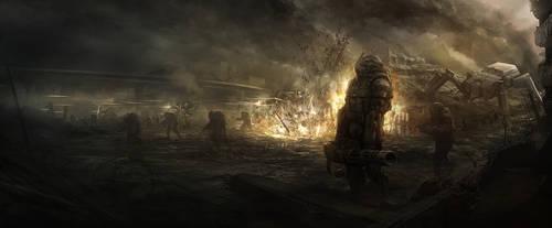 Dystopian Wars by sundragon83