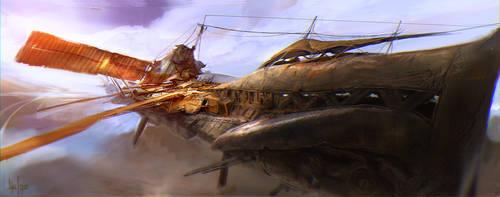 Ship Concept by sundragon83